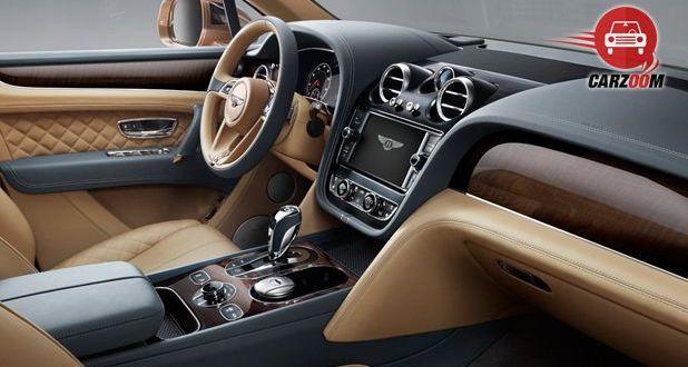 Bentley Bentayga Interior Dashboard View