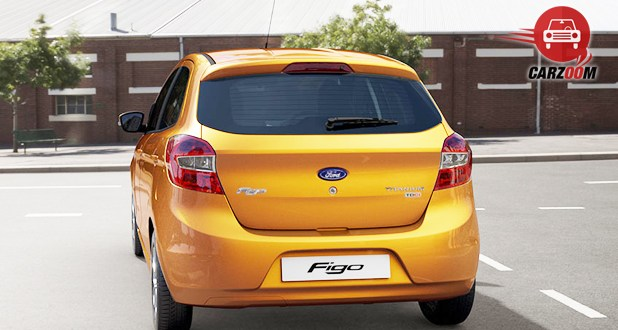 Ford Figo Back View