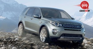 Land Rover Discovery Sport Front View