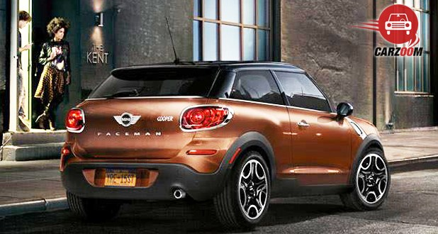 MINI Cooper Paceman Exterior Front and Side View