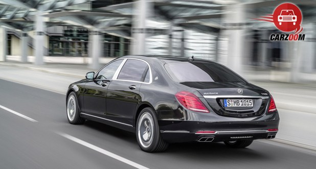 Mercedes Maybach S-Class Back and Side View