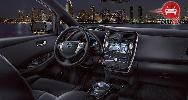 Nissan Leaf Interior View