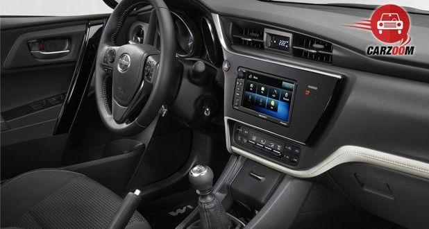 Scion iM Interior Dashboard