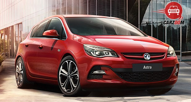 Vauxhall Astra Exterior Front View
