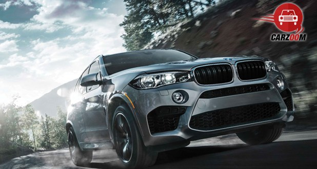BMW X5 M Exterior Front and Side View