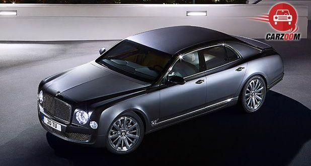 Bentley Mulsanne Top View
