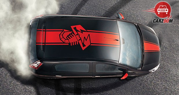 Fiat Abarth Punto Top View