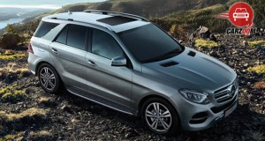 Mercedes-Benz GLE Exterior View