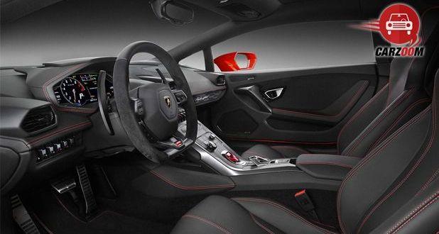 Lamborghini Huracan LP 580 2 Interior Dashboard View