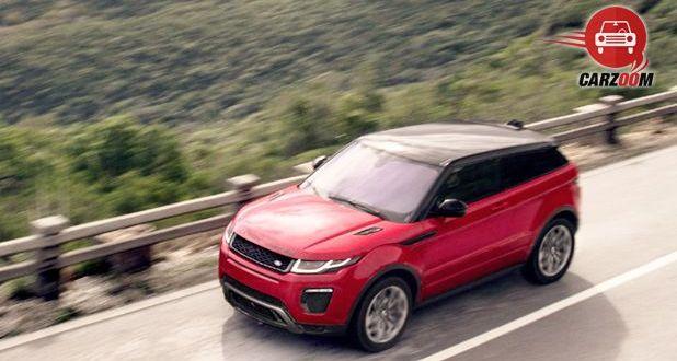 Land Rover Range Rover Evoque Facelift Top View