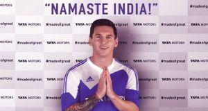 Lionel Messi Tata Motors Brand Ambassador