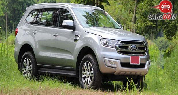 Ford Endeavour Side View