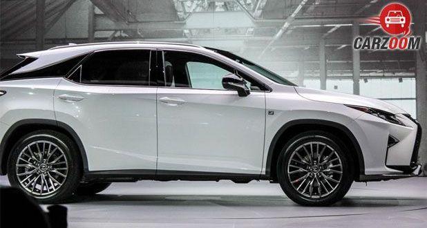 Lexus RX Side View