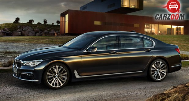 New BMW 7 Series Side View