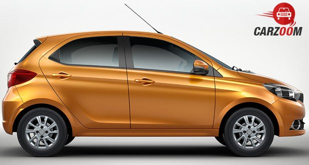Tata Tiago Side View