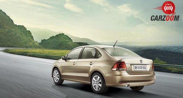 Volkswagen New Vento Back