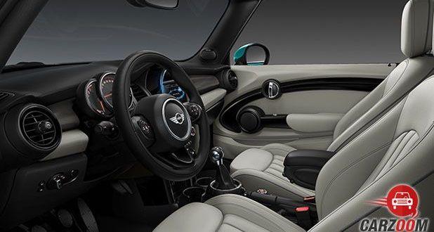 New Mini Cooper Convertible Interior View