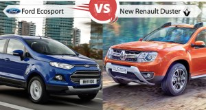Ford Ecosport versus New Renault Duster
