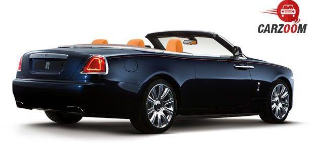 Rolls-Royce Dawn Back View