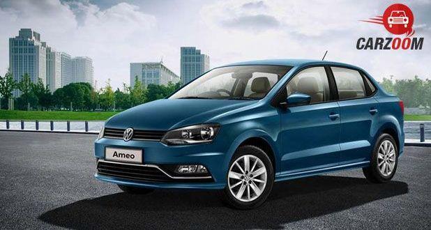 Volkswagen Ameo Front View