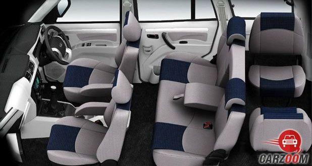 Mahindra Scorpio Intelli Hybrid Seats