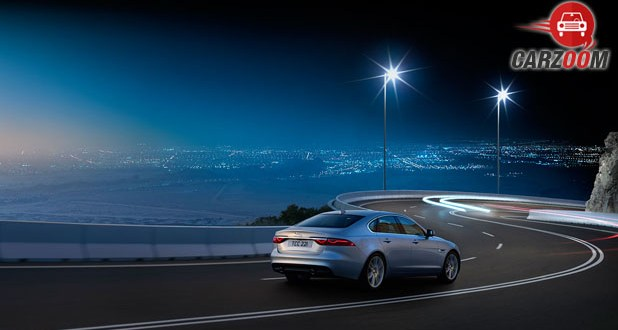 Jaguar XF View