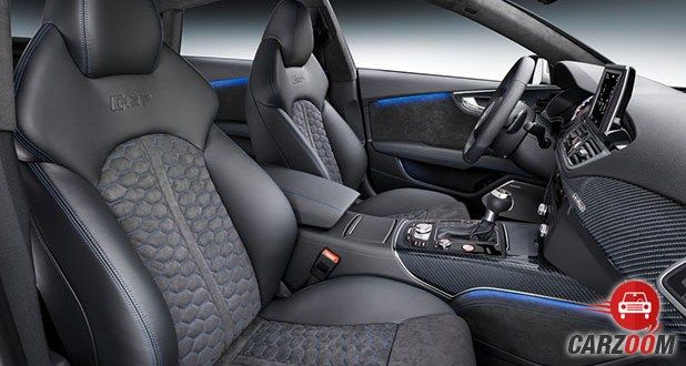 Audi RS7 Performance Sportback Front Seats