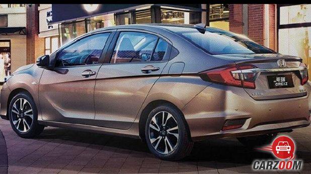 Honda City Facelift Back
