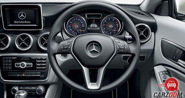 Mercedes-Benz CLA Stearing
