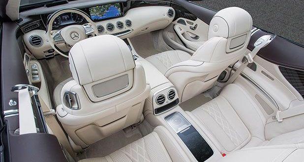 Mercedes-Benz S500 Cabriolet Interiors