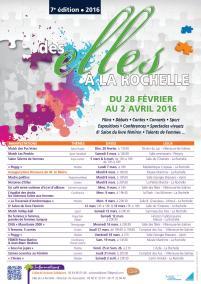 ELLES Affiche calendrier 2016