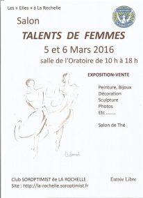 Visuel Soroptimist Talents de Femmes