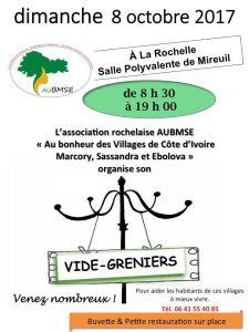 Vide grenier au profit de villages de Côte d'Ivoire @ Salle Polyvalente de Mireuil | La Rochelle | Nouvelle-Aquitaine | France
