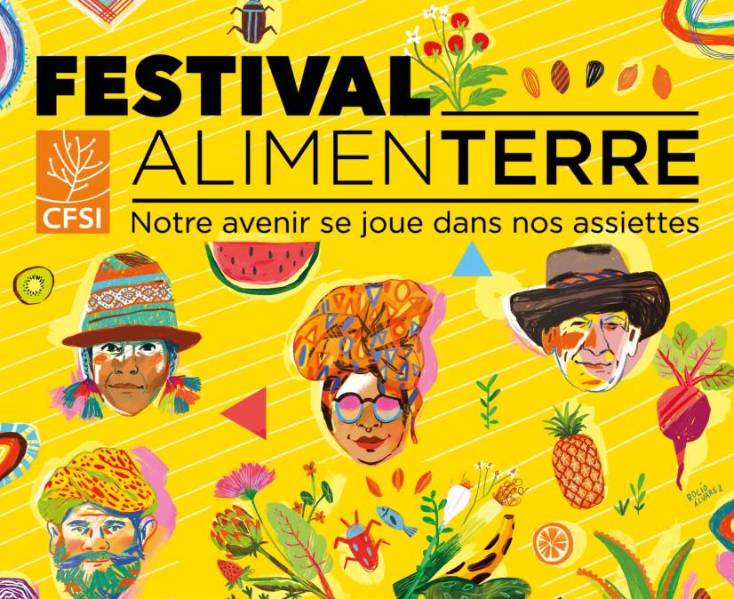 affiche 2018 Festival Alimenterre