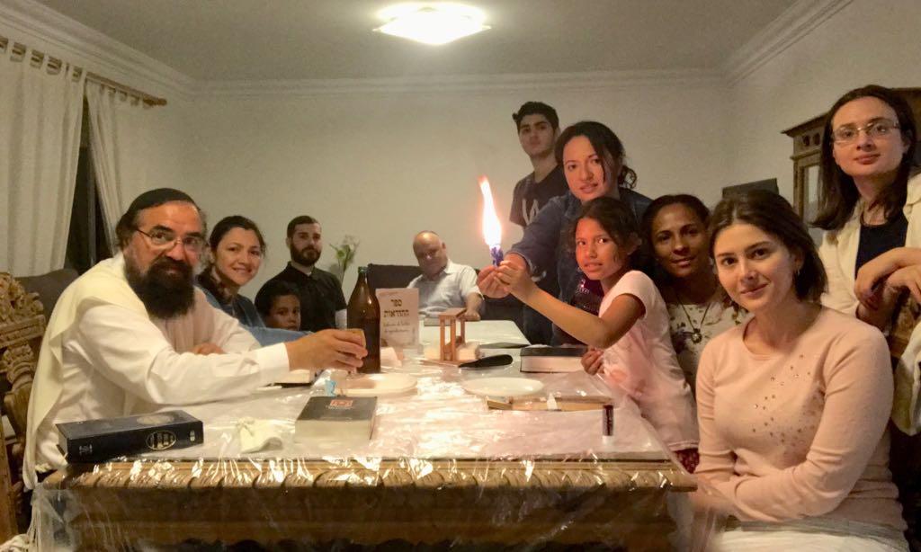 Una Visita más de Rab Elisha Salas en Alicante, España