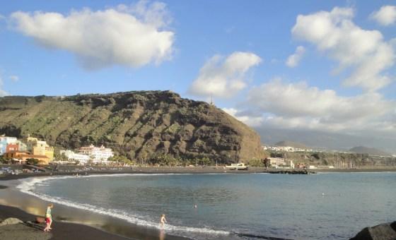 Tazacorte Puerto, plage