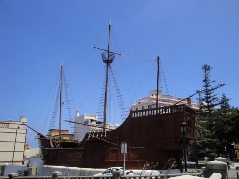 Santa Cruz, La Santa Maria de Christophe Colomb