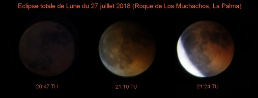 Eclipse totale de lune juillet 2018