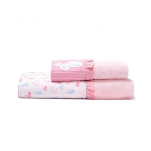 σετ-βρεφικες-πετσετες-laura-ashley-bunny