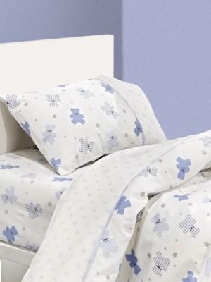 Παπλωματοθήκη Παιδική 163x225 Guy Laroche Heaven Light Blue