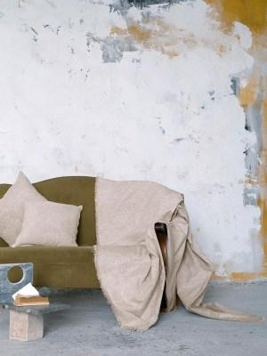 Ριχτάρι Chenille για Καναπέ NIMA Comfrey Ivory