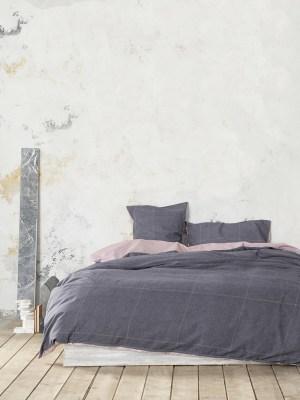 Σεντόνια Διπλά Σετ 200x260 NIMA Tailor Grey
