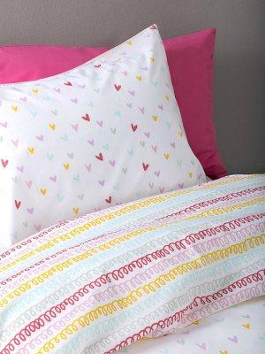 Σετ Σεντόνια Παιδικά 170x255 NIMA Rainbow Hearts