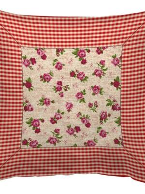 Μαξιλάρι διακοσμητικό 45x45 Στόφα Ισπανίας Flor B