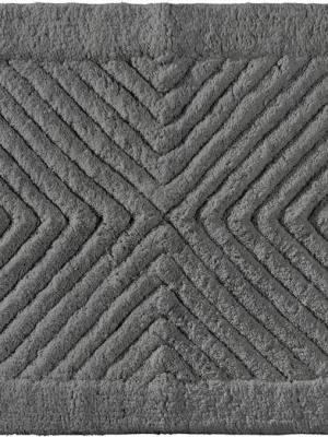 Πατάκι Μπάνιου 55x85 Pink Guy Laroche Mozaik Titanium