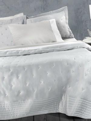 Κουβερλί Υπέρδιπλο Σετ Microsatin 240x250 GUY LAROCHE Fiore Silver