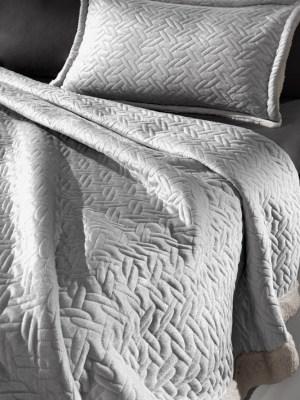Κουβέρτα Μονή 160x220 Guy Laroche Ristretto Silver