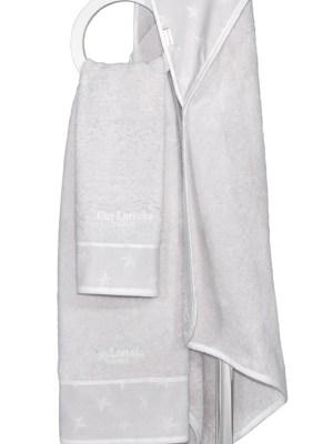 Πετσέτες Βρεφικές Σετ 2 τεμαχίων Guy Laroche Heaven Silver