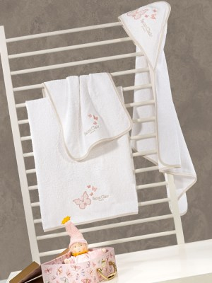 Πετσέτες Βρεφικές Σετ 2 τεμαχίων Saint Clair Contessa