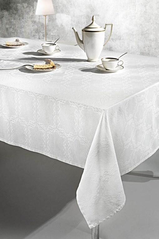 Τραπεζομάντηλο 160x250 Guy Laroche Rabat White